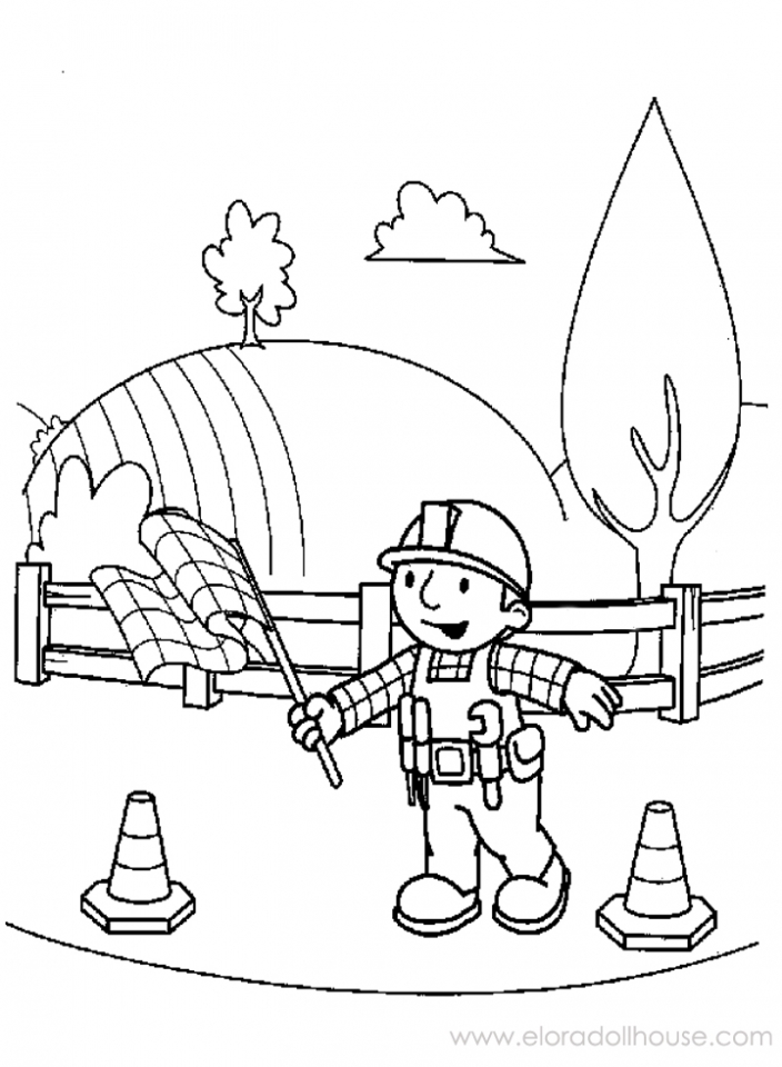 builders coloring pages - photo#17