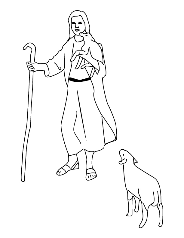 david the king coloring pages - photo#27