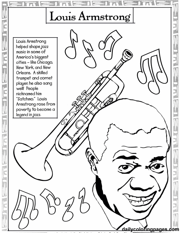 Black History Month Printable Coloring Pages Coloring Home Black History Coloring Pages