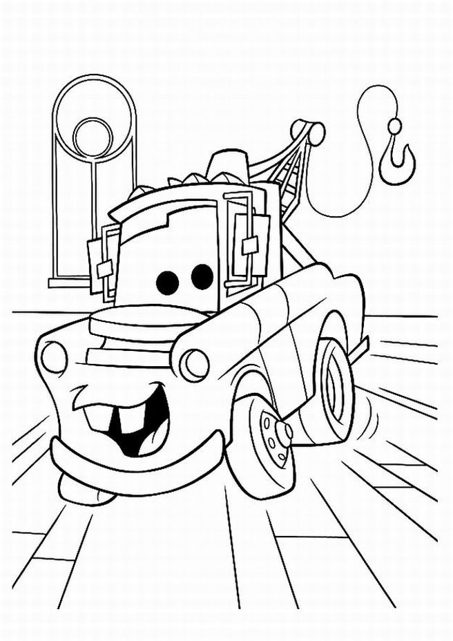pixar movie cars coloring pages - photo#29