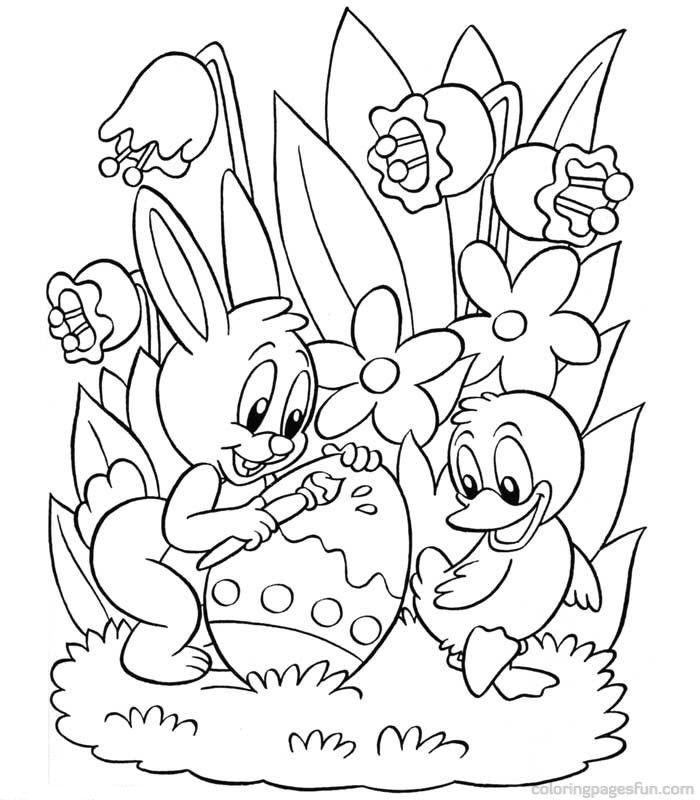 Free Printable Coloring Pages For Easter - Coloring Home