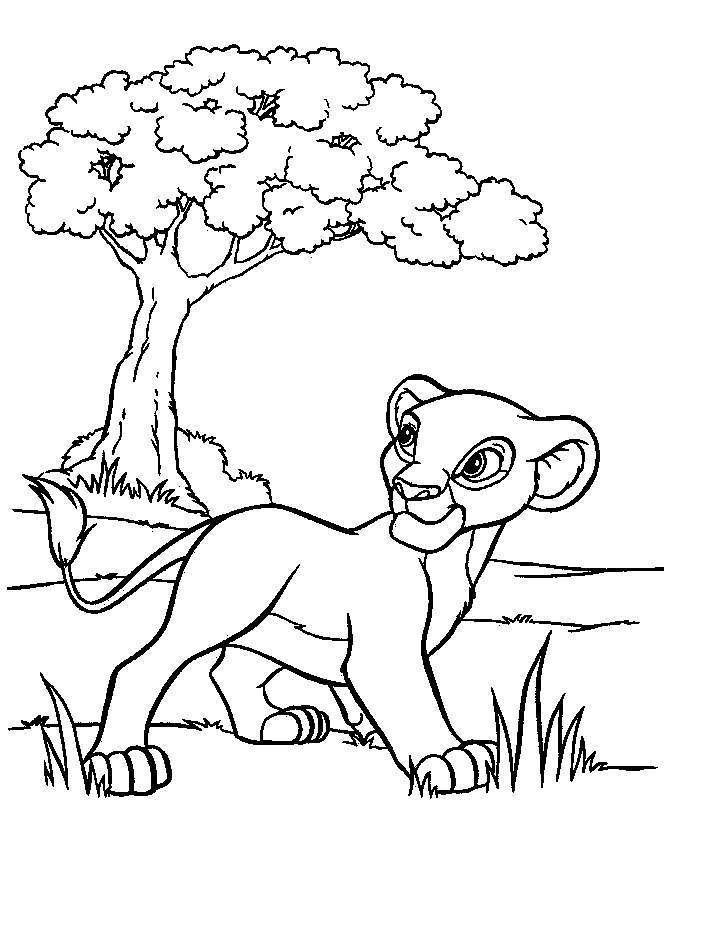 Cartoon Coloring Pages Disney - Free Printable Coloring Pages