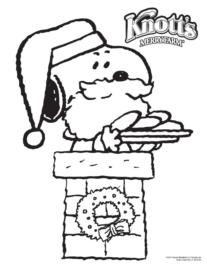 snoopy coloring page | Activities