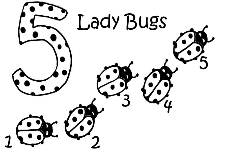 Ladybug Coloring Pages For Kids