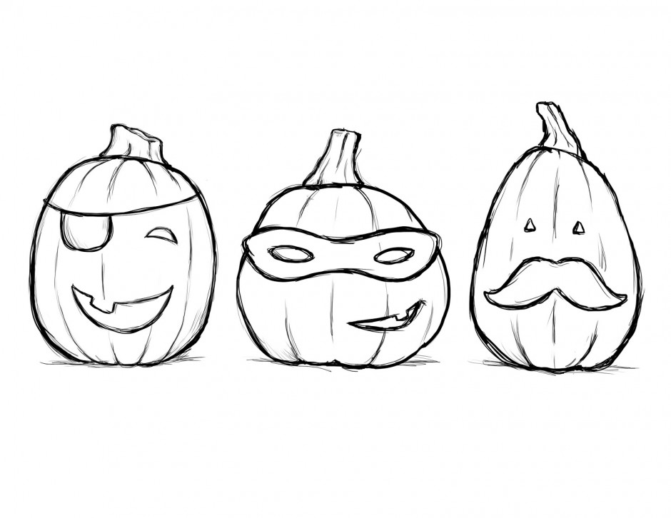 Blank pumpkin coloring pages az coloring pages for Blank pumpkin coloring page