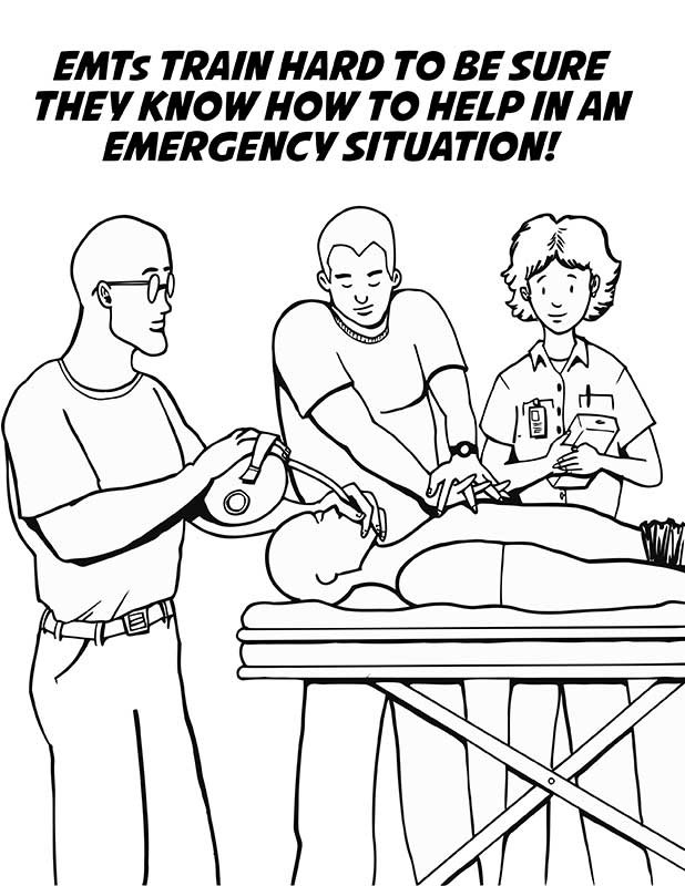 paramedics coloring pages for kids - photo#24