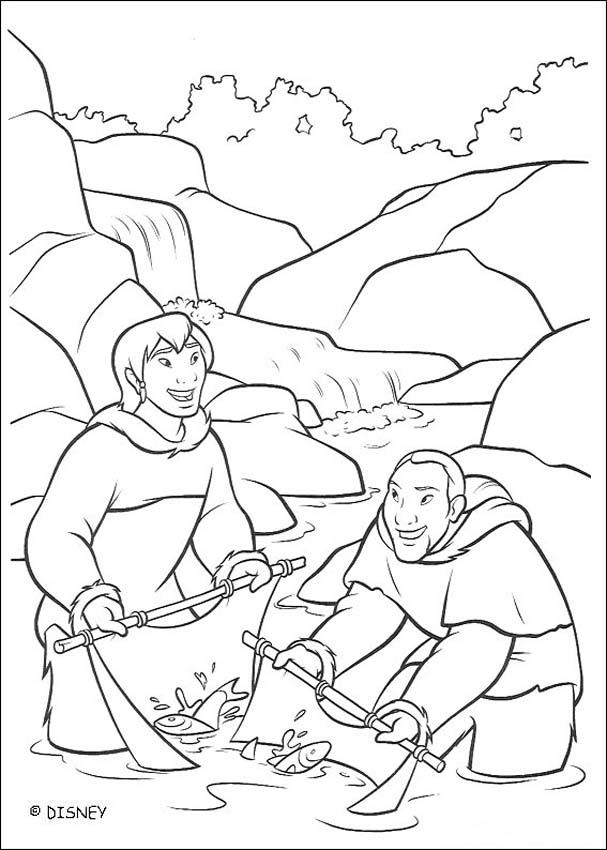 Brother Bear coloring book pages - Brother Bear 8