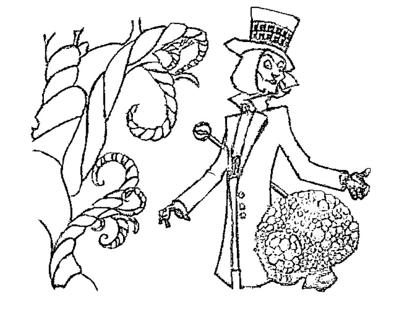 Charlie and the chocolate factory coloring pages az for Charlie and the chocolate factory coloring pages