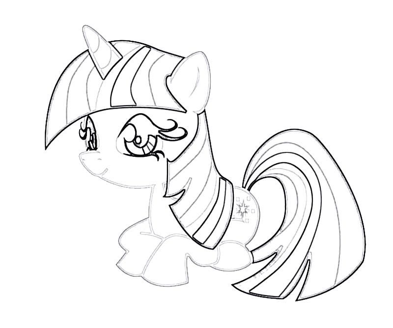 twilight sparkle pony coloring pages - photo#44