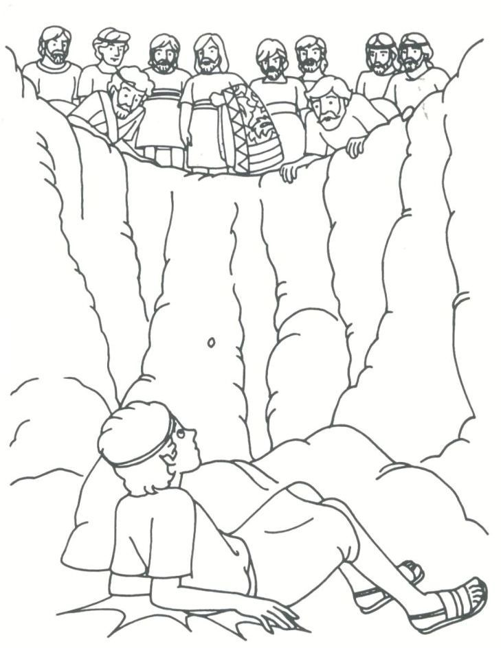 Joseph the patriarch Coloring Pages | Joseph the patriarch