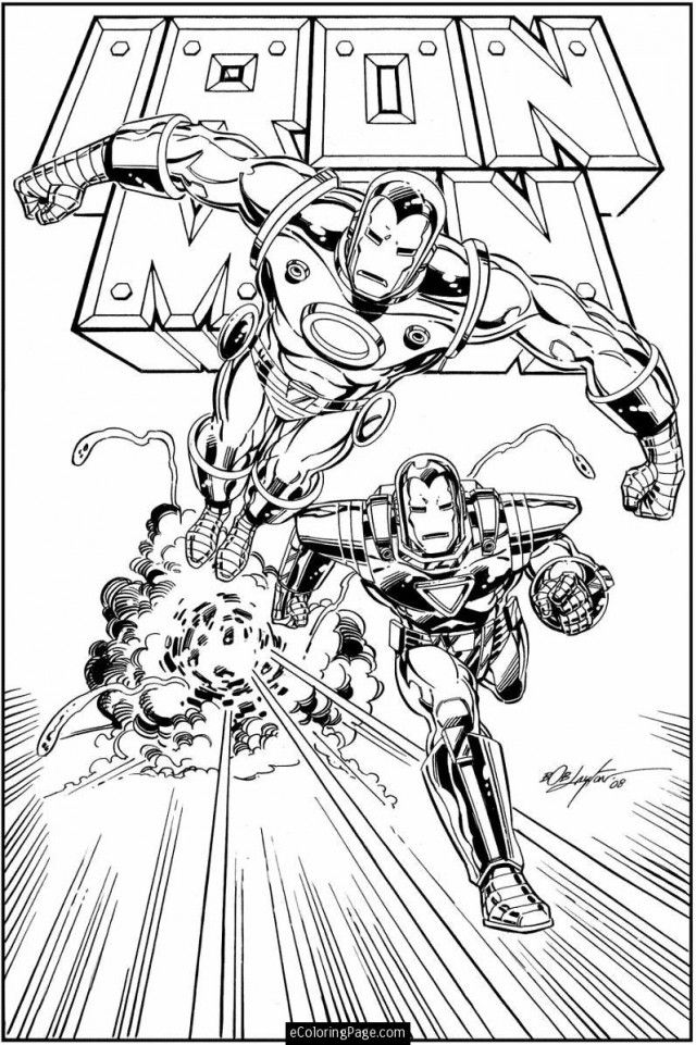marvel hero squad coloring pages - photo#19