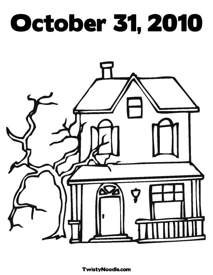 Monster House Coloring Pages
