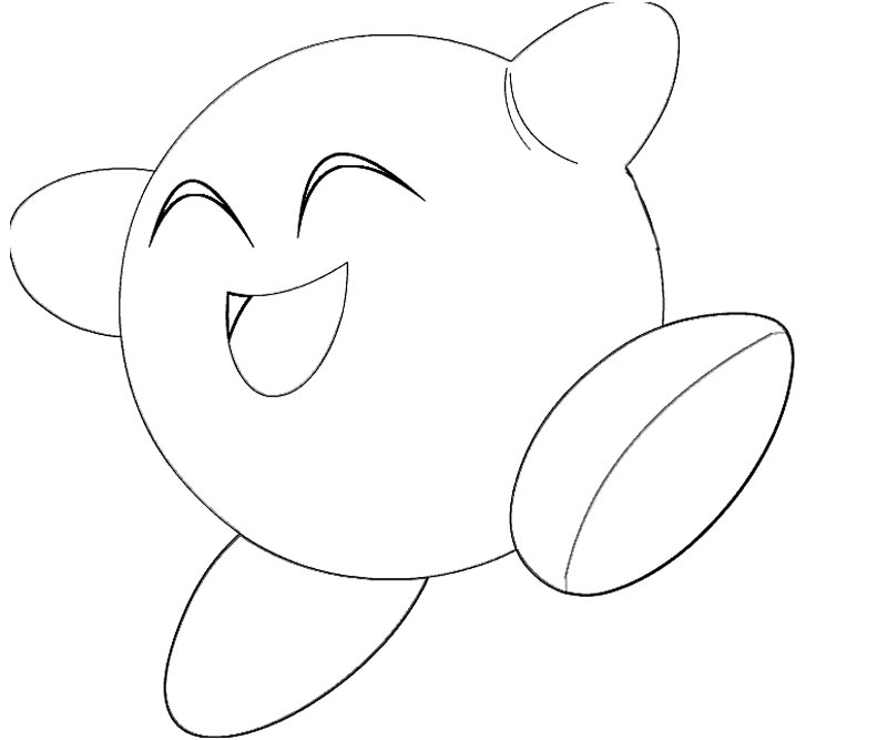 Kirby Coloring Pages - Category