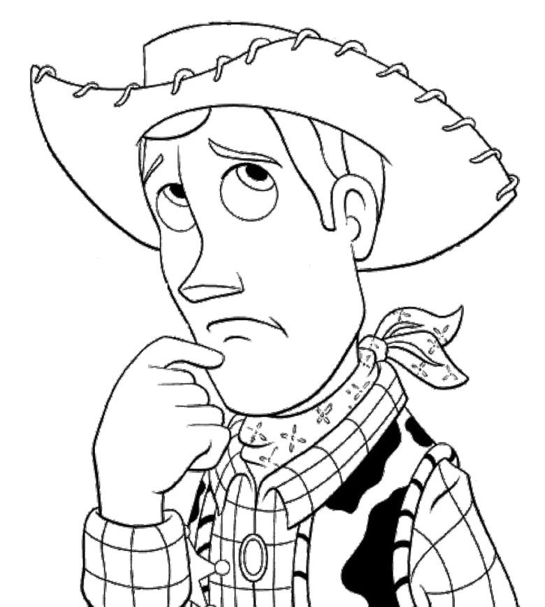 coloring pages of woody - photo#15