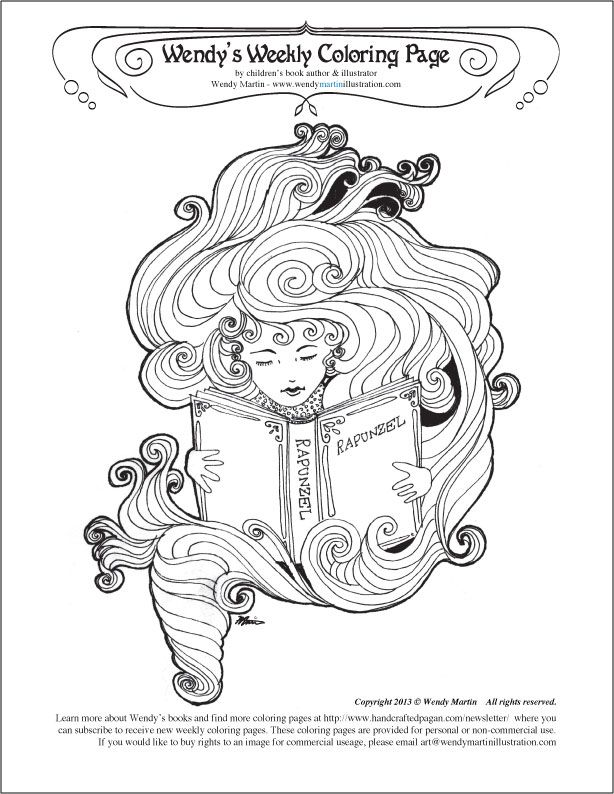 Pagan Coloring Pages - Coloring Home