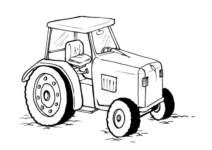 Tractor Coloring Pages John Deere Coloring Home