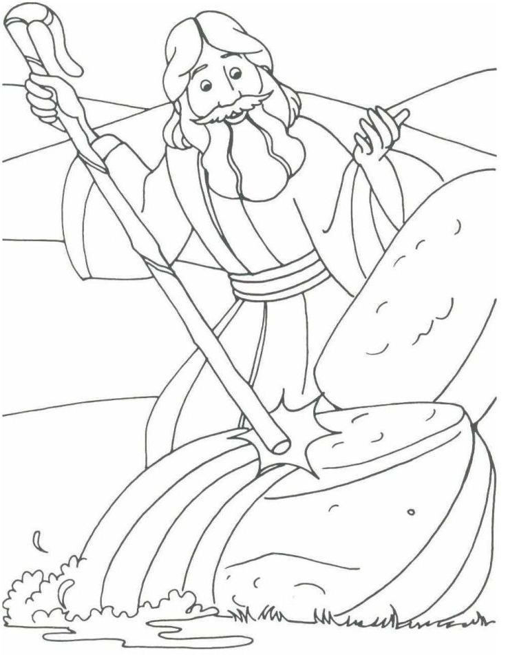 Ten Plagues Of Egypt Coloring Pages