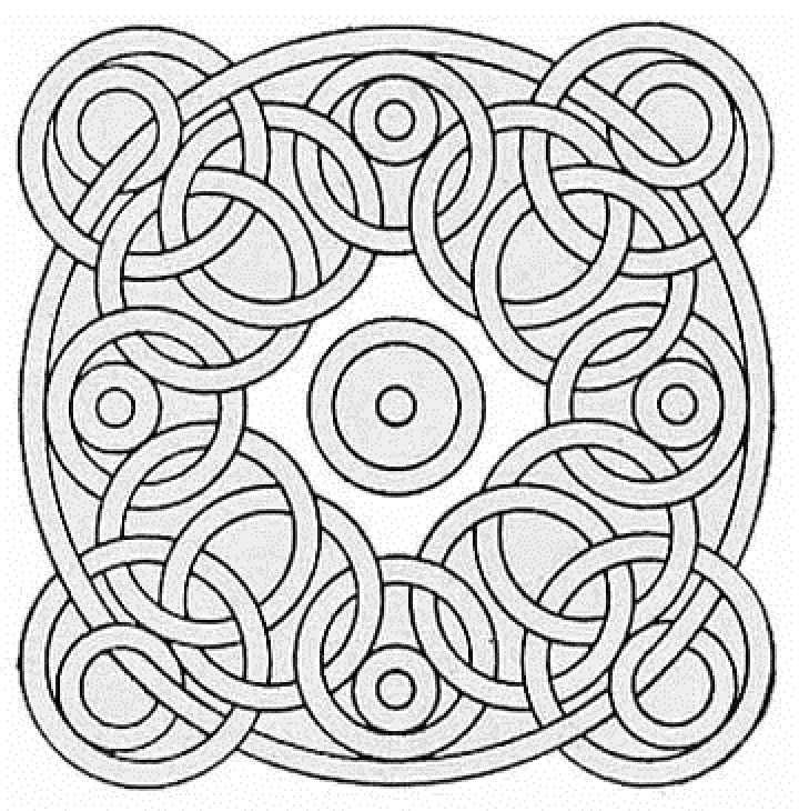 pattern coloring pages for teens - photo#22