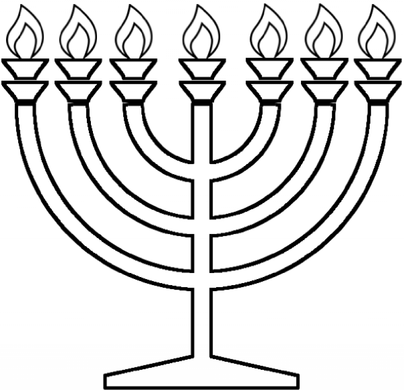 menorah coloring page happy hanukkah coloring page classroom