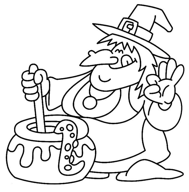 coloring pages fall halloween coloring - photo#1