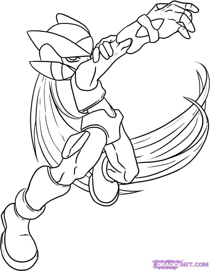 Zero Coloring Page Mega Man Coloring Page...