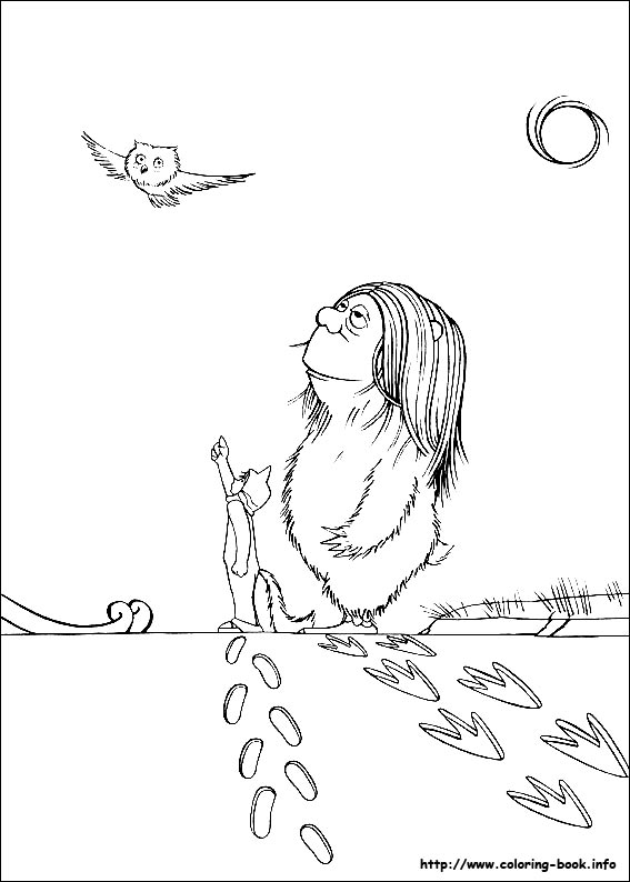 Coloring Pages For Where The Wild Things Are : Where the wild things are coloring pages az