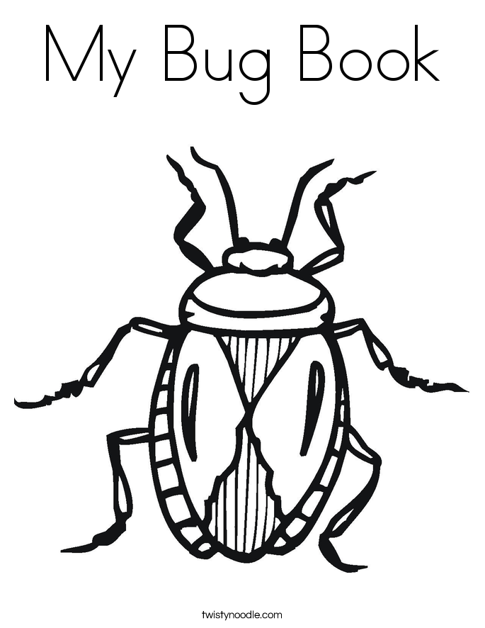 Bug Coloring Page | Coloring Pages