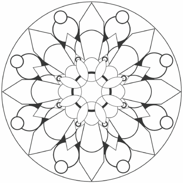 Simple Mandala Designs