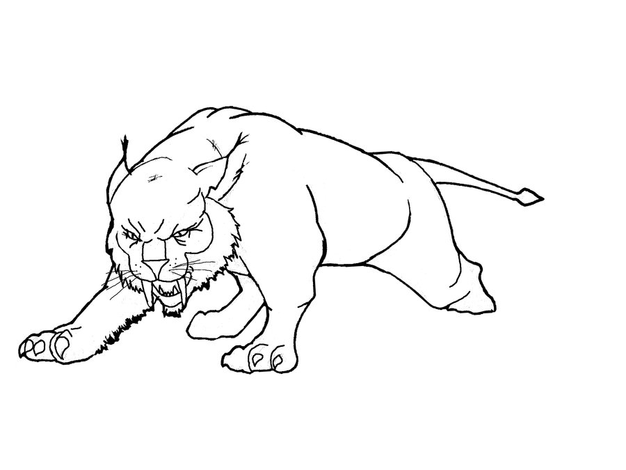 lynx coloring pages for kids - photo#20