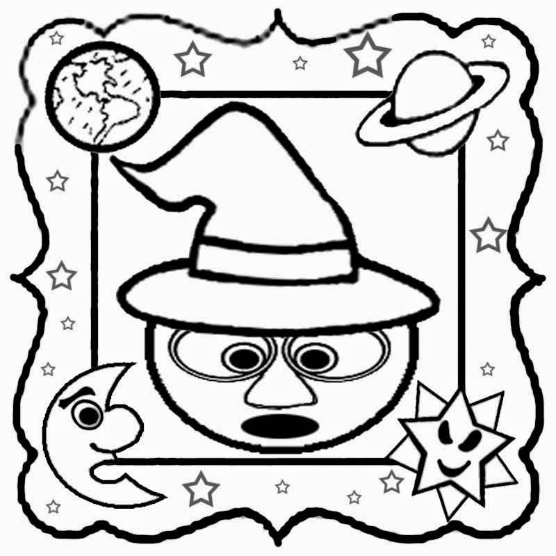 nine planets coloring pages - photo#27