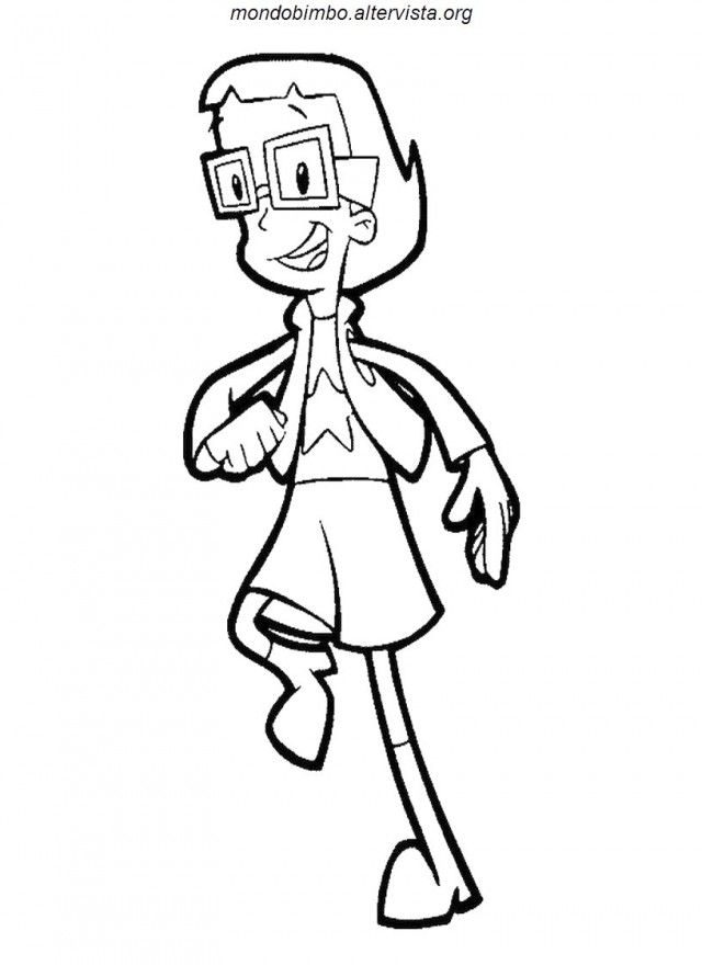 cyberchase coloring pages - photo#14