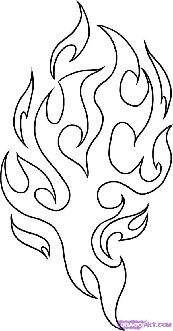 Fire Flames Coloring Pages Az Coloring Pages Coloring Pages Of Flames