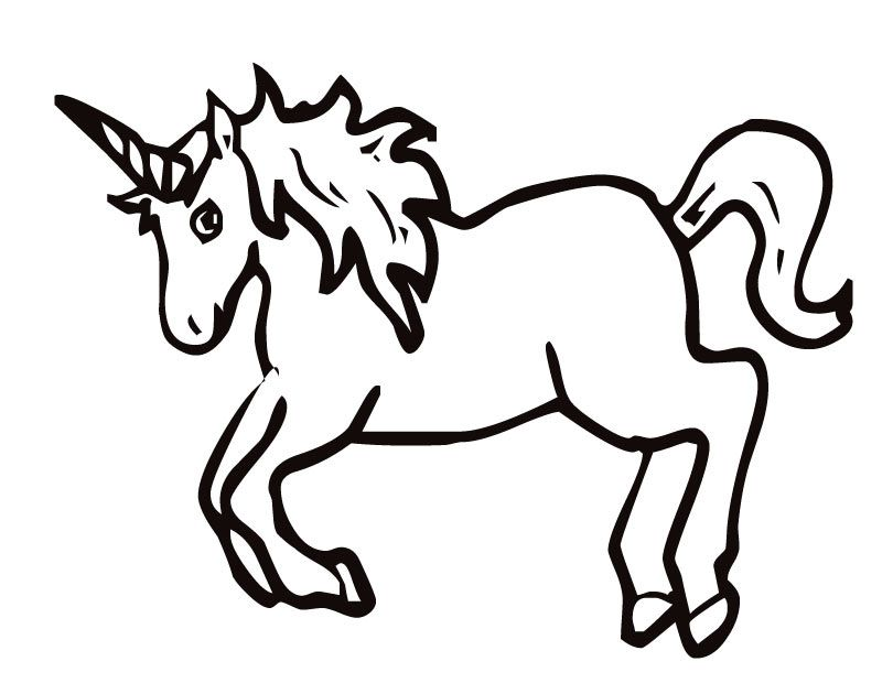 Coloring Pages For Unicorns : Coloring pages unicorn home