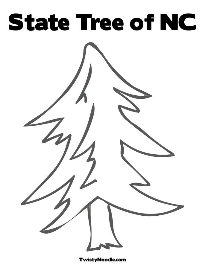a state tree Colouring Pages