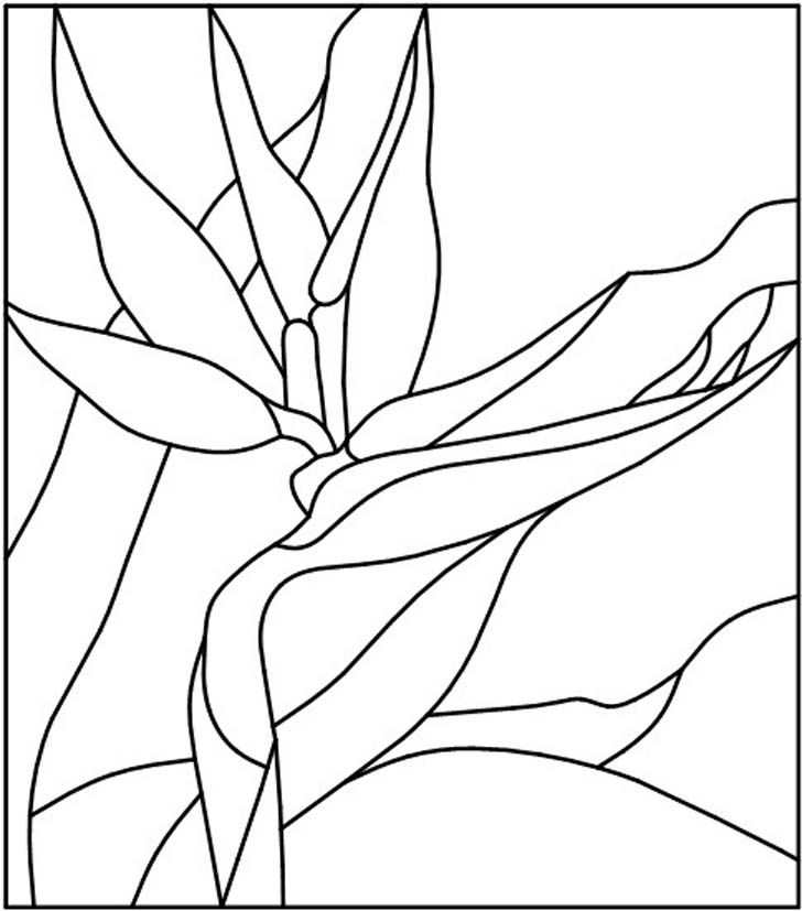 Simple Flower Patterns To Trace - AZ Coloring Pages