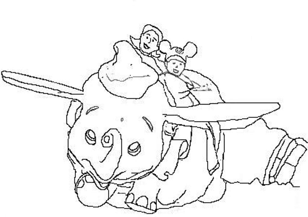 free magic kingdom coloring pages - photo#17