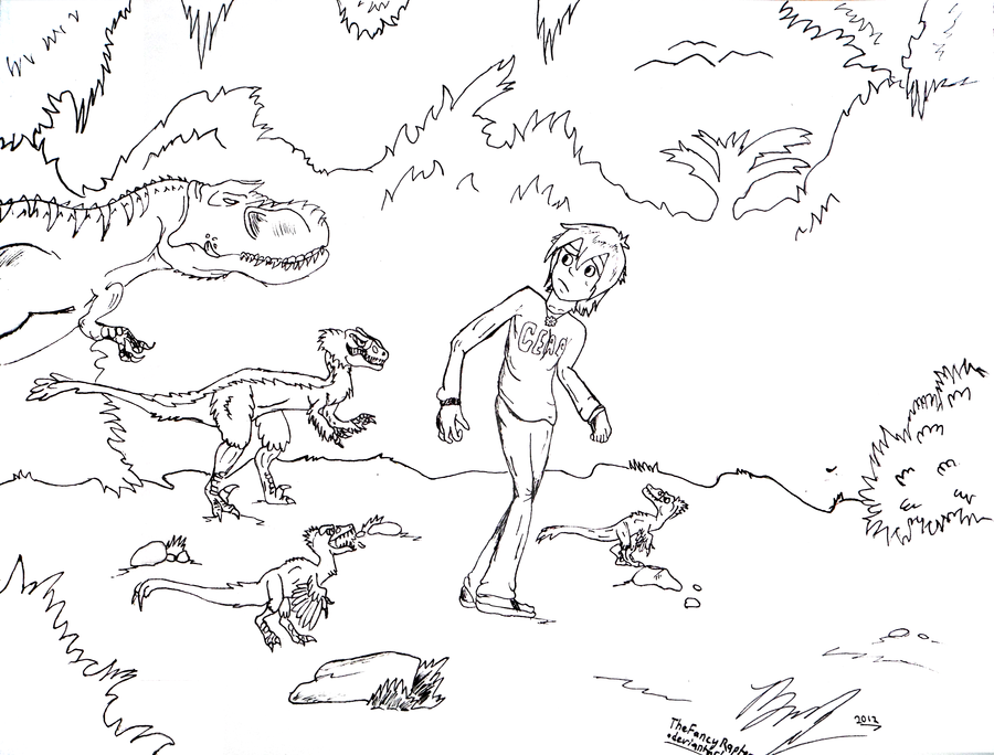 More hypothetical than i 39 d like by coloring home for Troodon coloring page