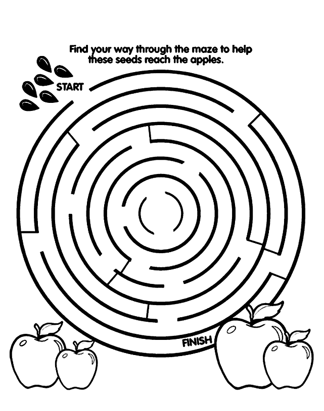 free labrynth coloring pages - photo#36