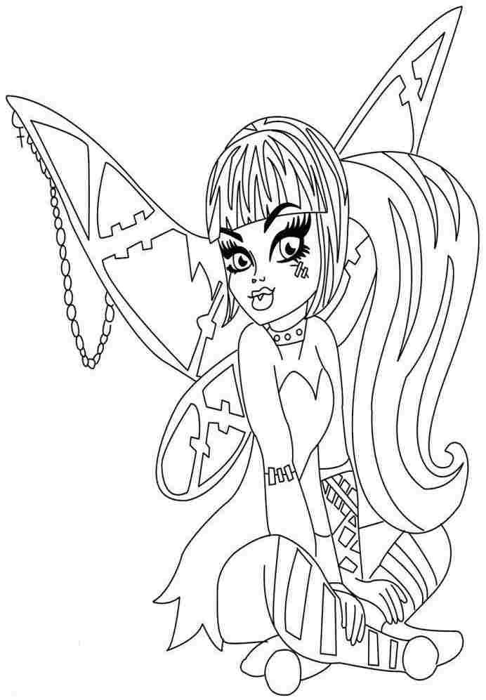 frankie stein coloring pages - photo#23