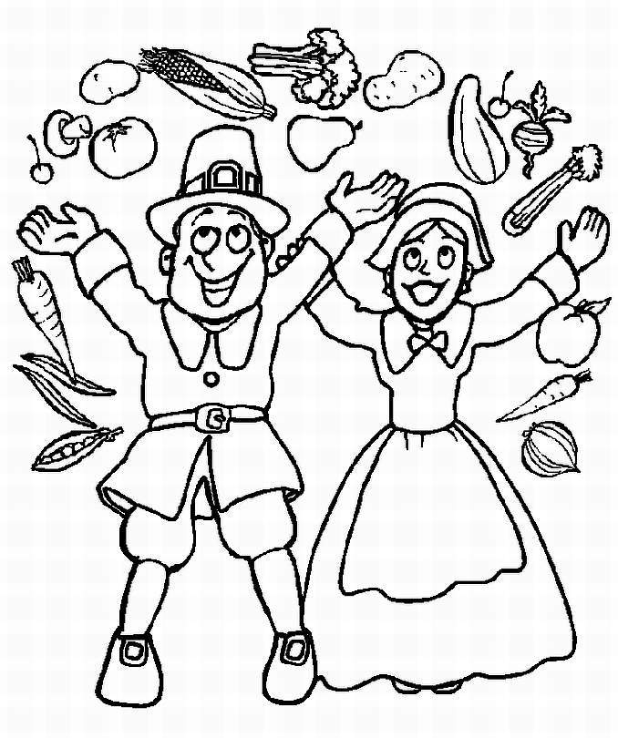 Thanksgiving Coloring Pictures | Canadian Entertainment and