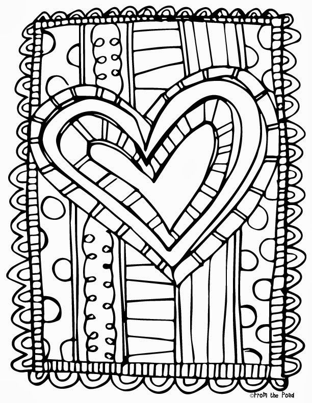 Valentines Day Coloring Pages Color By Code - Coloring Home