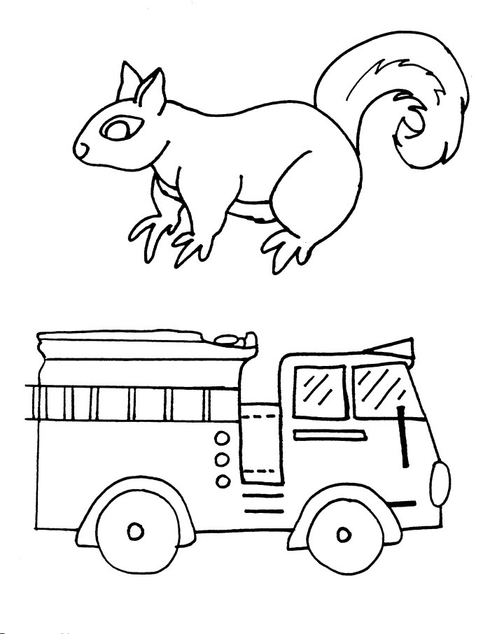 Fire truck coloring 9 free coloring page site az for Free coloring page site