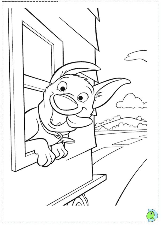 Bolt Coloring Pages Disney AZ