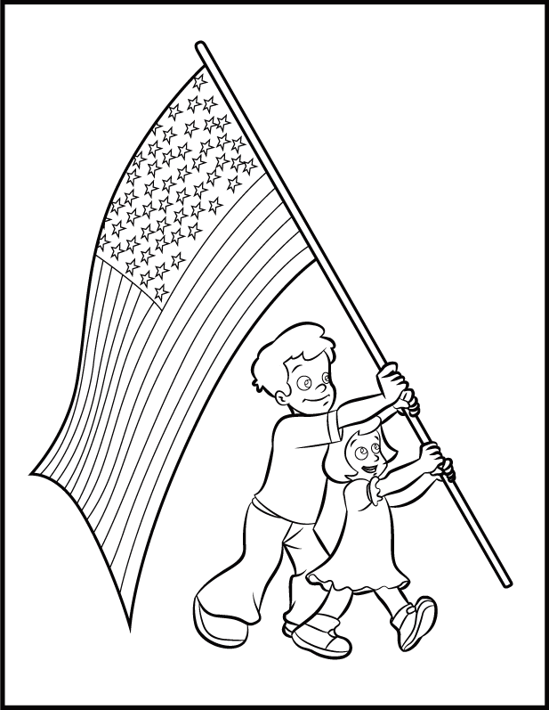 Flag printable az coloring pages for Arizona flag coloring page