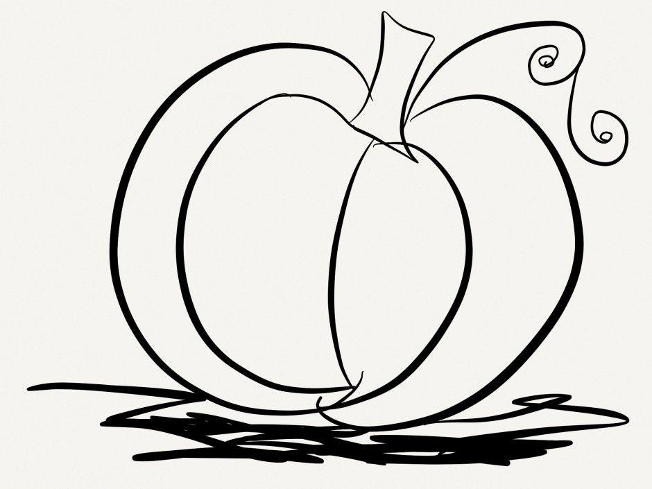 coloring pages pumpkin pie - photo#21