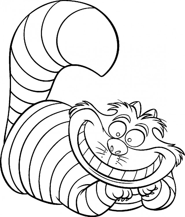 mad hatter coloring pages - photo#8