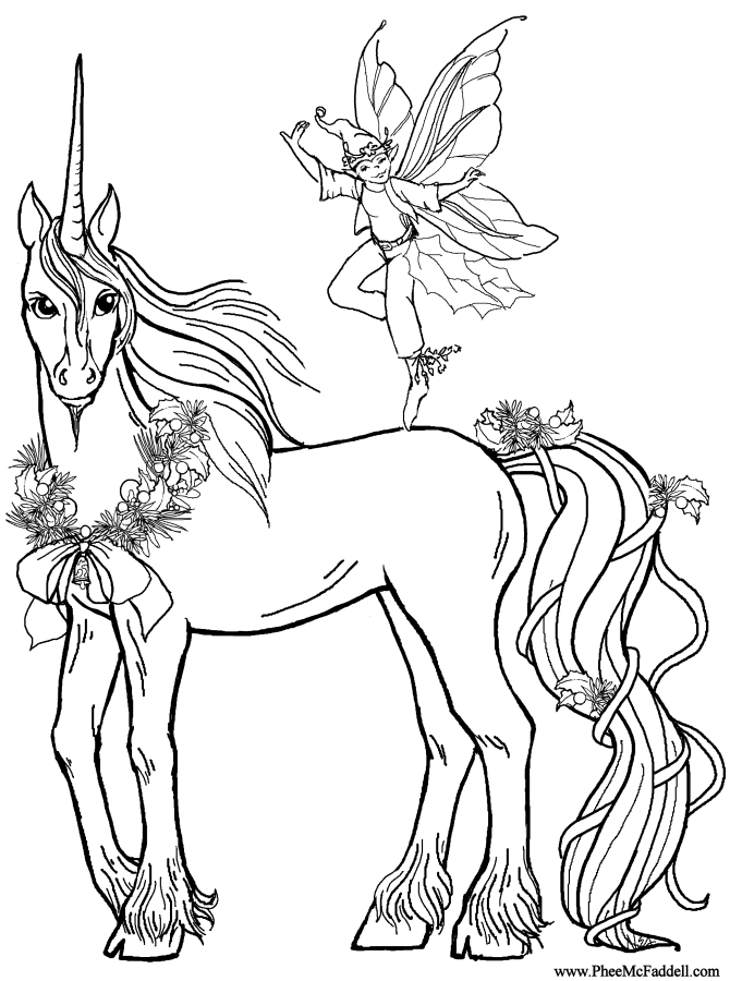 rainbow and unicorn coloring pages - photo#21