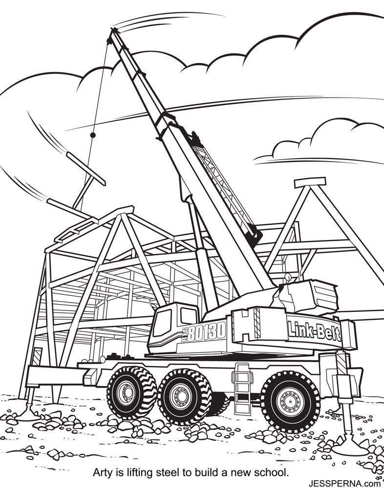 construction sign coloring pages - photo#42