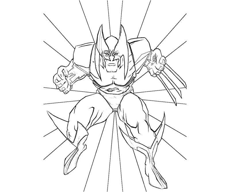 wolverine coloring pages free - wolverine coloring pictures coloring home