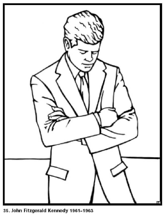 Presidents Coloring Pages - Coloring Home